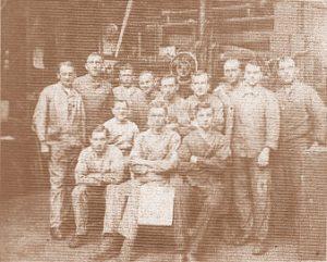 Dreher im Jahr 1924