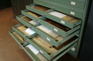 Sammlung der Konstruktionsunterlagen